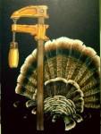 Preening Turkey